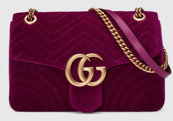 If you can find one let me know. The velvet bag everyone wants. You can't get into Gucci on 5th Ave. thanks to you know who. Well you can go in the side. I digress. Google around you might find one on eBay.