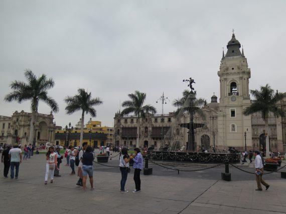 Last year was Peru. Lima.