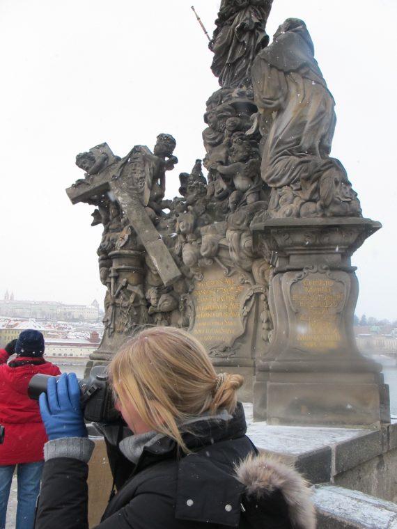 Taylor in Prague.